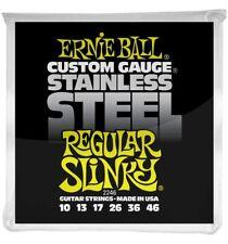 Ernie Ball 2246 - Jeu de cordes guitare électrique - Stainless Steel - Regular