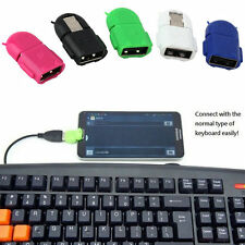 Micro USB 2.0 Host Male to USB Female OTG Adapter For Android Tablet PC EM