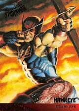 HAWKEYE / Spider-Man Fleer Ultra 1995 BASE Trading Card #119