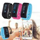 Sport Activity Sleep Tracker Heart Rate Fitness Pedometer Bracelet Smart Watch A