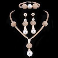 Fashion Pearl Tassel Necklace Women Choker Beads Statement Jewelry Accessories
