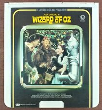 The Wizard of Oz (1939) - CED SelectaVision VideoDisc - From large collection -