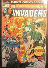 Invaders #4 January 1976 (Very Fine Condition) Marvel