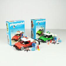 Playmobil 3215 & 3216 - Polizei & Feuerwehr - Auto - Vintage - Police Fire Chief
