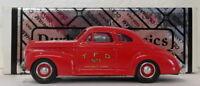 Durham 1/43 Scale DUR 32 - 1941 Chevrolet Coupe Toronto Fire Chief Car