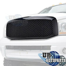 06-08 Dodge Ram 1500/ 07-09 Ram 2500/3500 ABS Black Mesh Replacement Grille