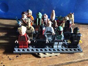 lego mini figures STAR WARS X15 Lot 24
