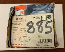 QUINTON HAZEL BP680 FRONT BRAKE PAD SET NISSAN 200SX