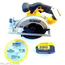 Dewalt DCS391 20V Cordless Circular Saw, 1) DCB204 4.0 Battery Blade Max 20 Volt