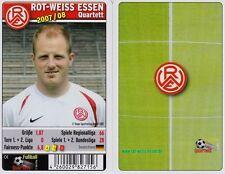 Rot Weiss Essen Quartett Kartenspiel 2007/2008 Karten Fußball  Spiel Neu OVP