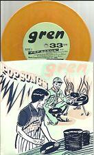 GREN Pop Songs 3 TRX w/ UNRELEASED LIMITED YELLOW PROMO 7 INCH Vinyl 1995 USA