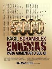 Portuguese IQ Boost Puzzles: 5000 Fácil Scramblex Enigmas para Aumentar o Seu...
