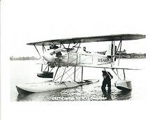 "1927 CURTISS XF7C-1 U.S. NAVY SEAPLANE BIPLANE AIRPLANE 5"" x 7"" B & W Photograph"