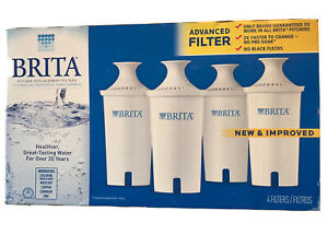 New Brita Filters 4-Pack Replacement Filters Advanced New & Improved New In Box