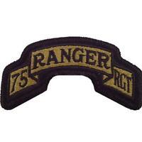 U.S. Army 75th Ranger Regiment Regulation OCP Patch W/Fastener