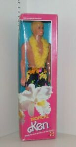 Vintage Tropical Ken Doll 1985