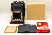 �Mint in Box】Horseman Woodman 45 4x5 Large format Field Camera Film Holders 592