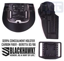 Blackhawk Beretta 92/96 Serpa Holster Carbon Fiber Finish - 410004BK