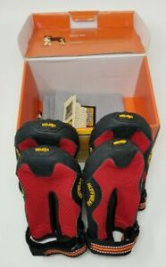 Ruffwear Vibram Grip Trex Mesh Wet Terrain Dog Puppy Red Paw Boots Shoes XL