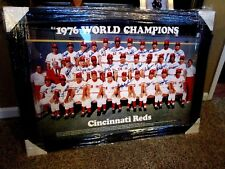 1976 Big Red Machine 24x36 Show Signed Poster Rose,Sparky,etc.-JSA Auth. X41756.