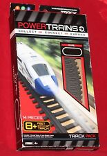 Power Trains Oval Track Pack 8 Curved + 6 Straight Tracks 8 Feet of Track