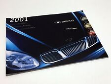 2001 Daewoo Leganza Nubira Lanos Brochure