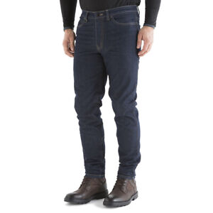 Knox Spencer Slim Fit - Made with DuPont Kevlar - Motorcycle Jeans - Blue