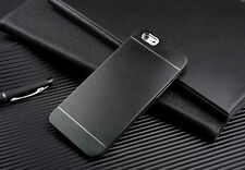 Metal Aluminum Brushed Hard Shockproof Back Case Cover For iPhone 5s 6 6s 7 Plus