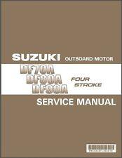 09-14 Suzuki DF70A DF80A DF90A Outboard Motor Service Repair Manual CD
