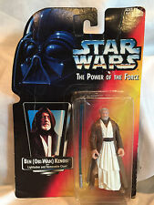 Ben(Obi-Wan) Kenobi Lightsaber Removable Cloak 1995 Power of the Force Star Wars