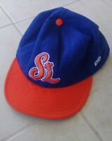Port St Lucie Mets Hat Minor League Baseball Cap Blue Orange MLB 7 1/2 New Era
