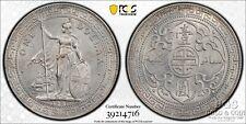 1907-B Great Britain $1 Trade Dollar PCGS Genuine UNC Detail Silver Coin 18331
