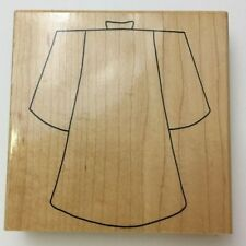 Rubber Stamp Church Robe Religious Christian Limited Edition 3042P Wood Mounted