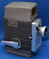 BELL & HOWELL Electric Eye Vintage 8mm Movie Film Camera f/1.9 Lens USA AS IS