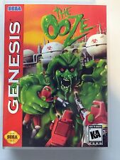 The Ooze - Sega Genesis - Replacement Case - No Game
