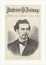 Ludwig II., König von Baiern, gest. am 13. Juni Joh. Lindner Holzstich E 13693