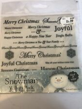 The Snowman Vellum Pack - 36 Sheets Christmas Vellum - Craft Clearout