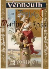 MARTINI & ROSSI VERMOUTH, TORINO,Italy, 1895, 250gsm A3 Poster