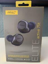JABRA ELITE ACTIVE 75T TRUE WIRELESS HEADPHONES 100-99091000-02 BRAND NEW