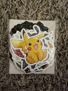 Pokémon sticker lot Of 49 Stickers