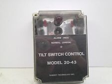 *USED* THERMO SCIENTIFIC 081659 TILT SWITCH CONTROL MODEL 20-43 CB FREE SHIP!