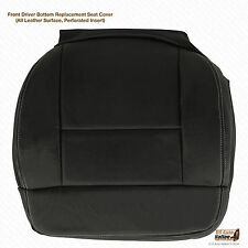 2004 Ford F-150 FX4 XLT Driver Bottom Leather Seat Cover Black Perforated