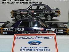 Biante 1/18 Ford Falcon XY GTHO 2nd Place Bathurst 1971 Barnes/Skelton  MiB