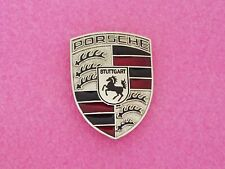 Porsche 930 Hood Emblem Crest Badge - Silver OEM 911 928 944 993 996