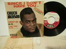 "Chuck Jackson""Since I Don't Have You""ep7""or.fr.vogue:epl8269 biem.1964 languette"