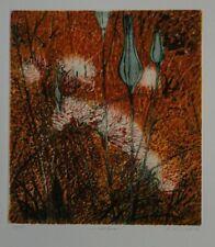 Helga Wirth - Wollgras - Farbradierung - 2002 - 33/40