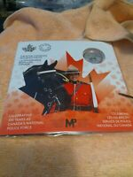 2020 The Royal Canadian Mounted Police 100 Years 1/4oz .99.99 Silver & Coin Pack