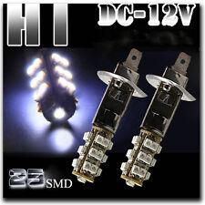 1X 12V H1 25 SMD LED White Car High Beam Fog Light Headlight Driving Lamp Bulbs