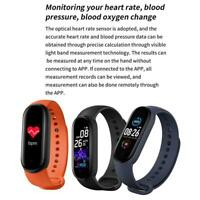 M5 Smart Watch Wristband Bracelet Message Push Health For iOS Android O2V7