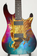 More details for dragon head- custom guitar skin vinyl wrap laminated air release printed decal